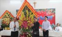 Noël : Truong Hoa Binh félicite les chrétiens du Sud
