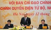 Le Premier ministre Nguyên Xuân Phuc préside une conférence sur l'e-gouvernement