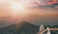 Le pont d'Or de Danang, l'un des plus beaux du monde