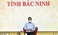 Covid-19: Pham Minh Chinh se rend à Bac Giang et à Bac Ninh, les deux épicentres de la quatrième vague