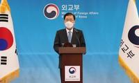 Le chef de la diplomatie sud-coréenne qualifie d'unilatéral l'appel de Pyongyang à mettre fin à la politique hostile du Sud