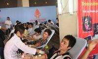 """Chương trình vận động hiến máu xuyên Việt mang tên """"Hành trình đỏ"""""""