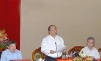 Đoàn công tác của Bộ Chính trị làm việc với Ban Thường vụ Tỉnh ủy An Giang