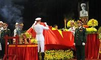 Lễ Quốc tang Đại tướng Võ Nguyên Giáp được dư luận đánh giá cao