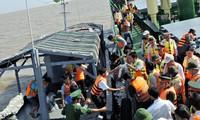 Các tỉnh Tây Nam bộ thăm, chúc tết Bộ Tư lệnh Vùng 5 Hải quân