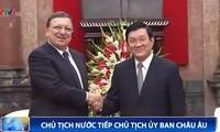 Chủ tịch nước Trương Tấn Sang: Không có trở ngại gì trong quan hệ song phương Việt Nam-EU