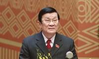 Chủ tịch nước Trương Tấn Sang tiếp Đại diện Thương mại Hoa Kỳ Michael Froman