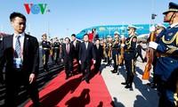 Chủ tịch nước Trương Tấn Sang tới Trung Quốc tham dự Hội nghị các nhà lãnh đạo APEC