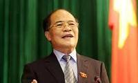 Chủ tịch QH Nguyễn Sinh Hùng: Bảo vệ độc lập chủ quyền và toàn vẹn lãnh thổ là mục tiêu cao nhất