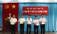 Đoàn công tác các tỉnh, thành phố thăm và chúc Tết cán bộ chiến sĩ Vùng 5 Hải quân