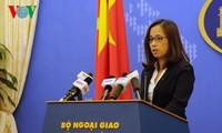 Việt Nam phản đối và yêu cầu Trung Quốc chấm dứt hoạt động cải tạo ở Trường Sa
