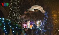 Tưng bừng không khí đón Giáng sinh ở nhiều địa phương trên cả nước