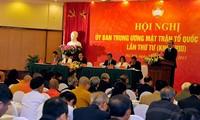 Hội nghị Ủy ban Trung ương Mặt trận Tổ quốc Việt Nam lần thứ tư, khóa VIII