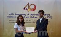 Giới thiệu logo kỷ niệm 40 năm quan hệ ngoại giao Việt Nam – Thái Lan