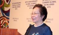 Вице-президент Вьетнама участвует в 25-м всемирном саммите женщин