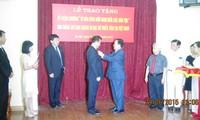 В Ханое наградили посла КНДР памятной медалью «Во имя мира и дружбы между народами»