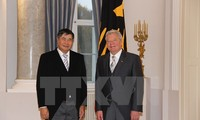 Президент ФРГ выразил удовлетворение развитием двусторонних отношений с Вьетнамом