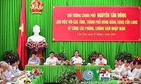 Нгуен Тан Зунг: необходимо применять срочные меры борьбы с изменением климата
