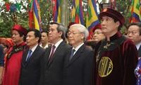 Во Вьетнаме прошел торжественный праздник поминовения королей Хунгов