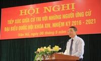 Министр транспорта и путей сообщения СРВ провел встречу с избирателями провинции Шонла