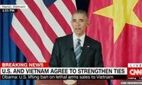 ИноСМИ осветили заявление Обамы о снятии эмбарго на поставку оружия Вьетнаму