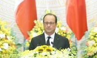 Президент Франции Франсуа Олланд посетил город Хошимин