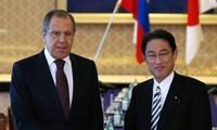 Главы МИД России и Японии обсудили недавнее ядерное испытание в КНДР
