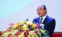 Нгуен Суан Фук принял участие в праздновании 20-летия со дня воссоздания провинции Биньфыок