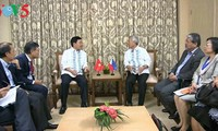 Фам Бинь Минь принял министров иностранных дел Филиппин и Индонезии