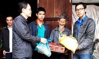 Новогодние подарки малоимущим людям в провинции Куангнам