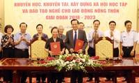 Вьетнам стремится повысить качество профобучения трудящихся в сельских районах