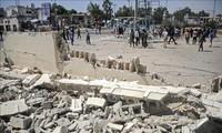 Число погибших в результате взрывов в столице Сомали возросло до 20 человек