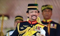 Султан Брунея Хассанал Болкиах находится во Вьетнаме с государственным визитом