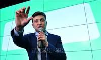 Владимир Зеленский лидирует по итогам первого тура выборов президента Украины