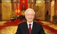 Поздравительная телеграмма по случаю 70-летия со дня установления дипломатических отношений между Вьетнамом и КНДР
