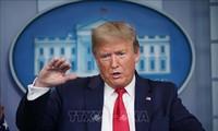 Президент США Дональд Трамп: решение об открытии экономики страны принимает президент