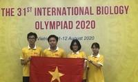 Вьетнамские школьники выиграли Международную биологическую олимпиаду 2020 года