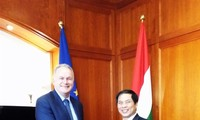 Vietnam dan Hungaria menegaskan akan cepat menandatangani dengan resmi EVFTA