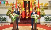 PM Sri Lanka dan Istri mengakhiri dengan baik kunjungan resmi-nya di Vietnam