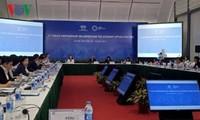 Konferensi ke-2 Pejabat Senior APEC dan sidang-sidang yang bersangkutan diadakan di kota Ha Noi
