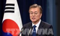 Pimpinan Republik Korea, Jepang dan Tiongkok sepakat melakukan koordinasi erat dalam masalah RDRK