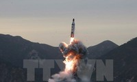 RDRK meluncurkan rudal : Jepang dan Republik Korea berkomitmen akan bekerjasama secara erat