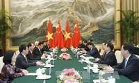 Mendorong hubungan kerjasama strategis dan komprehensif Vietnam-Tiongkok