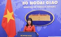 Vietnam dengan konsekuen mendukung semua upaya mendorong dialog dan menjaga perdamaian dan kestabilan di semenanjung Korea