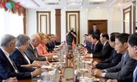 Presiden Vietnam, Tran Dai Quang melakukan pertemuan dengan Ketua Dewan Federasi Rusia