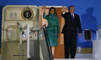 Presiden AS memulai kunjungan di Polandia