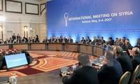 Semua fihak menyiapkan putaran perundingan damai yang baru tentang perdamaian di Suriah
