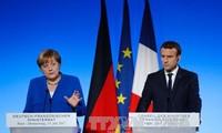 Kanselir Jeman ingin memperhebat hubungan dengan Perancis