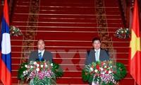 PM Laos merasa puas terhadap perkembangan hubungan Vietnam-Laos