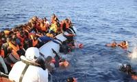 """Masalah orang migran: Italia meminta kepada organisasi-organisasi internasional supaya menandatangani """"Kode etik"""" di laut"""